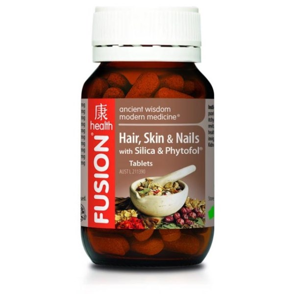Fusion Health Hair, Skin & Nails Nutrients - 90 Tablets